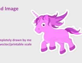 Nro 5 kilpailuun Sketch three unicorn stickers käyttäjältä Savioperera