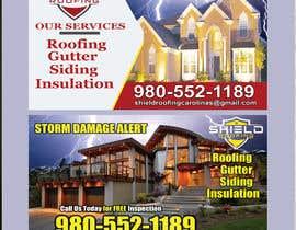 """nº 30 pour 4"""" x 6"""" Roofing post card par yes321456"""