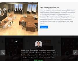 #18 para Design a homepage for office room rental website de joynal3
