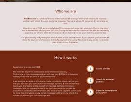 Nro 15 kilpailuun Design a Website Mockup käyttäjältä dipankarpatar