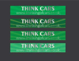 #4 for Create a jpg / pdf for a design for rear car window stickers by shohan33