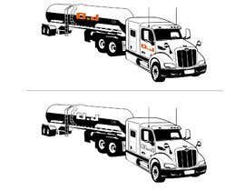 #26 para Vectorize & create an outline of a truck image de letindorko2