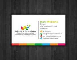 nº 12 pour Business Cards - Willow par papri802030