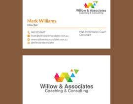 nº 170 pour Business Cards - Willow par ibanur91