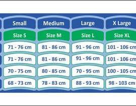 #11 para Make our size chart amazing por iqbalkhatri55