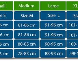 #6 para Make our size chart amazing por zoomultrabd