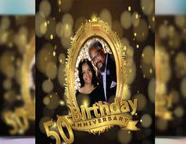 nº 20 pour 50th Birthday Flyer par sangma7618