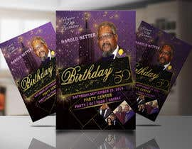 nº 8 pour 50th Birthday Flyer par mhrakib421