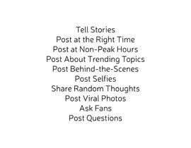 #32 para Content ideas for Facebook por iambedifferent