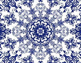 Create A Blue And White Fabric Print Inspired By Blue China