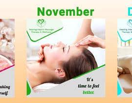 Shojol786 tarafından 3 Massage Therapy Flyers (October, November, December) için no 21