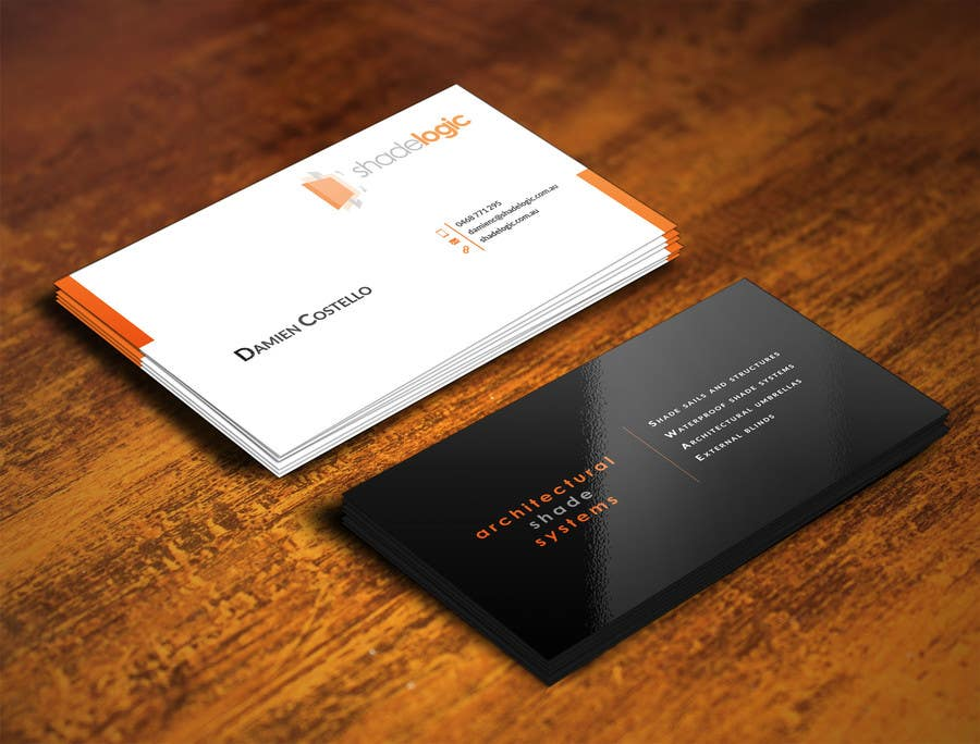 Entry #93 by ghani1 for Design some Business Cards for new small ...