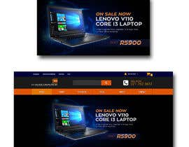 #25 untuk Design A Banner For My Website and Facebook (Laptop Special) oleh akidmurad
