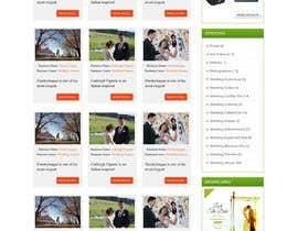 nº 29 pour PSD Redesign of Wedding Directory Site par webidea12