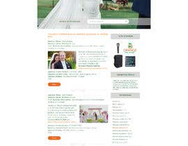 nº 27 pour PSD Redesign of Wedding Directory Site par margo7pribylova