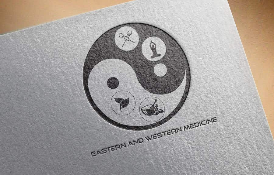 Contest Entry #222 for Combining Eastern and Western Medicine Logo