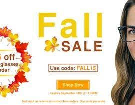 nº 85 pour Fall Sale Banner par iamyesarun