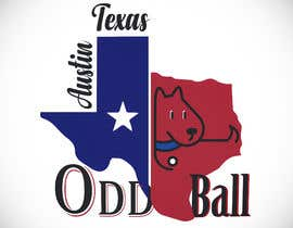 "#123 para Tshirt Design for a Group of Owners of Dog Daycares ""The ODD ball! por zawyed"