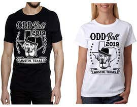 "#117 para Tshirt Design for a Group of Owners of Dog Daycares ""The ODD ball! por feramahateasril"