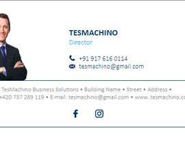 #34 for Design an email signature for Gmail af tesmachino