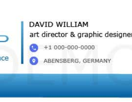 #32 for Design an email signature for Gmail af Azharoo