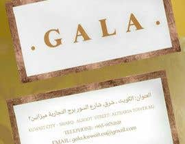 nº 47 pour I need some graphic design. For business card and price tag , my company name is GALA , color: rose gold & off white. par Saran2u