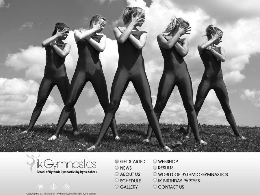 #72 for Website Design for ik gymnastics LLC by muresanalexandru