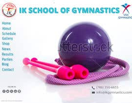 #34 para Website Design for ik gymnastics LLC por datagrabbers