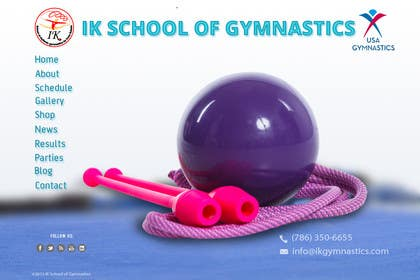 #35 for Website Design for ik gymnastics LLC by datagrabbers
