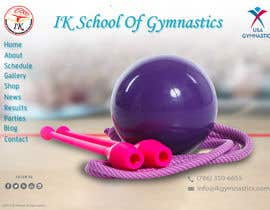 #44 para Website Design for ik gymnastics LLC por datagrabbers