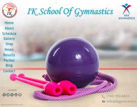 nº 60 pour Website Design for ik gymnastics LLC par datagrabbers