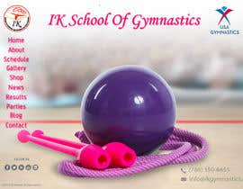 #65 para Website Design for ik gymnastics LLC por datagrabbers