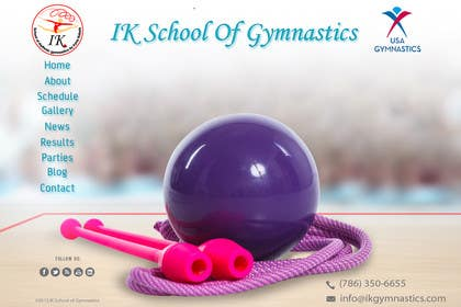 #67 for Website Design for ik gymnastics LLC by datagrabbers