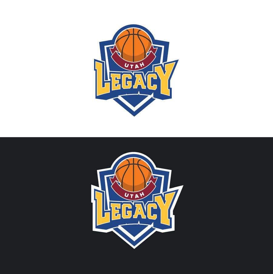 Proposition n°4 du concours Utah Legacy Basketball logo -- 09/15/2018 01:28:55