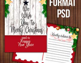 #8 for Christmas Postcard Design (front/back) af marianayepez