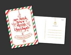 #11 for Christmas Postcard Design (front/back) af wahwaheng