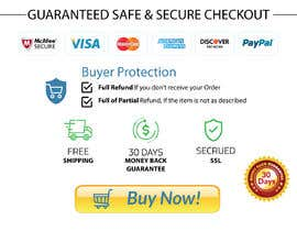 "#16 for Design secure checkout, shipping, money back guarantee icons that will go below ""Buy it Now"" button on product page by shohan33"