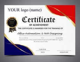 certificate design freelancer