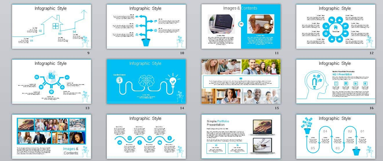 Entry 31 By Workwithhts For 6 Page Powerpoint Template For