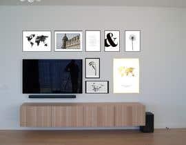 #49 for Design a photo frame wall by Algadi77