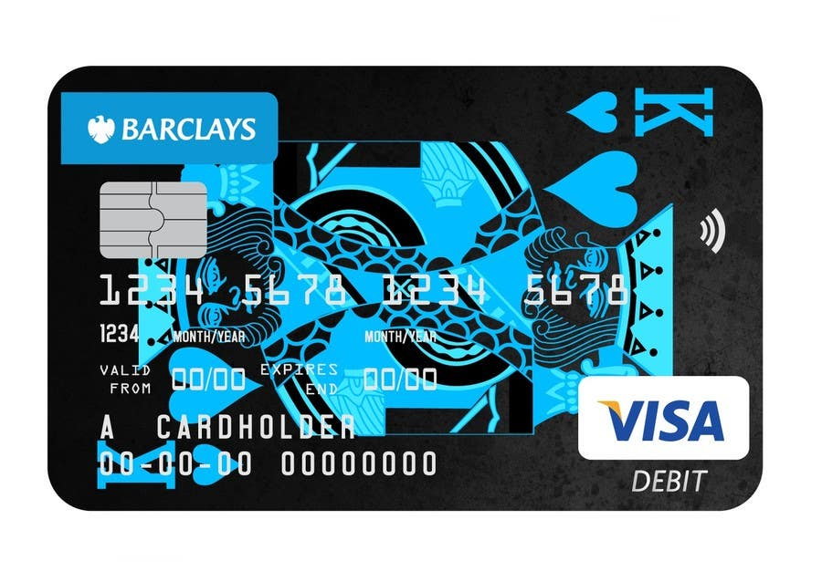 Barclays Personalised Debit Card Designs