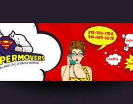 #63 cho MOVING COMPANY POP ART BANNER EYE CATCHY bởi siambd014