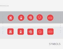 Nro 4 kilpailuun Five symbols/pictogram käyttäjältä Jinnuraien