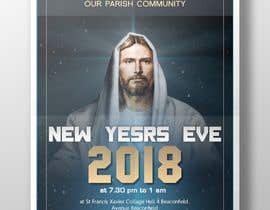 #2 for Let's bring in the new year with our parish community. New Yesrs Eve 2018. 7.30pm to 1am at St Francis Xavier Collage hall 4 Beaconsfield Avenue Beaconfield Melbourne Victoria. Music by Legacy & DJ Johann. Mc Allan. by yunitasarike1