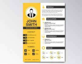 #97 for Design my Resume / CV by Shahed34800