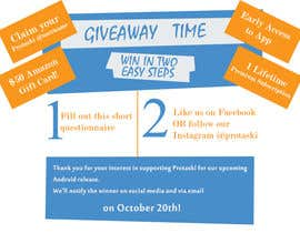 #6 для Design a Giveaway Contest! от sertankk