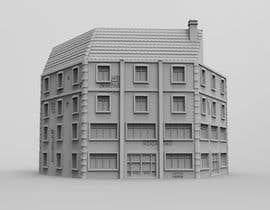 Nambari 23 ya 3D Model Miniature WW2 Building Hexagon na andricandrijana