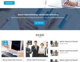 #7 for Simple professional Accounting website design by rginfosystems