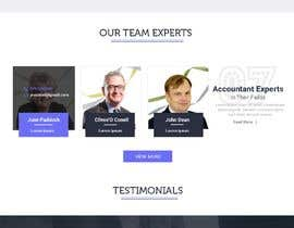 #5 for Simple professional Accounting website design by Baljeetsingh8551
