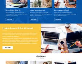 #9 for Simple professional Accounting website design by ayan1986